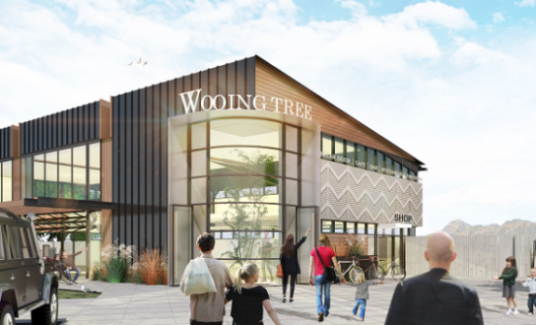 Wooing Tree Centre Render