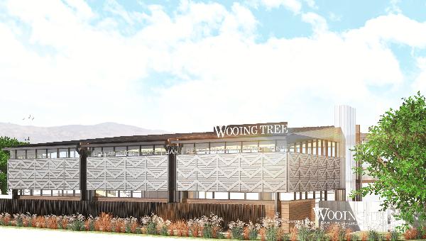 Wooing Tree Cellar Building Render