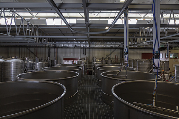 Wooing Tree Wine Processing Facility