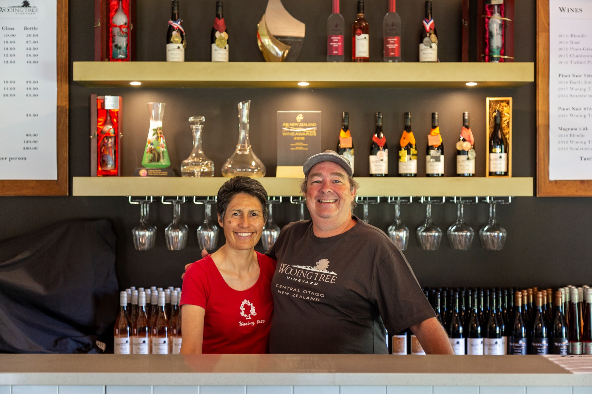 Two Owners of Wooing Tree Wine