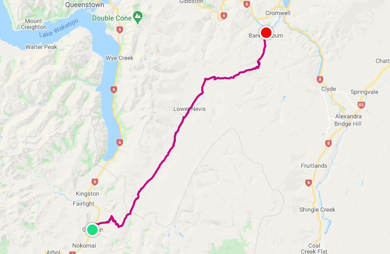 Map of Surrounding Area Outside Cromwell