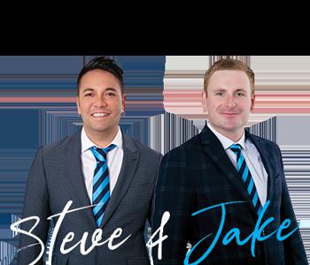 Steve and Jake