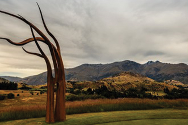 Artistic Tree Sculpture