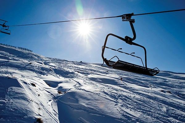 Treble Cone Ski Lift